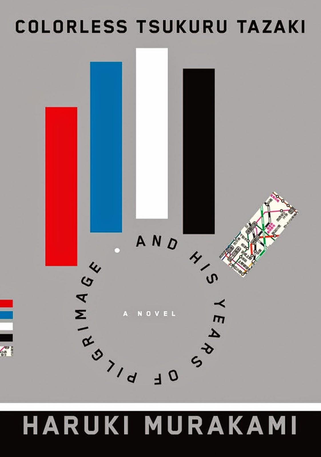 Cover of Colorless Tsukuru Tazaki and his years of pilgrimage