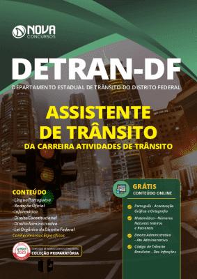 Apostila Concurso DETRAN DF 2020 Assistente de Trânsito Grátis Cursos Online