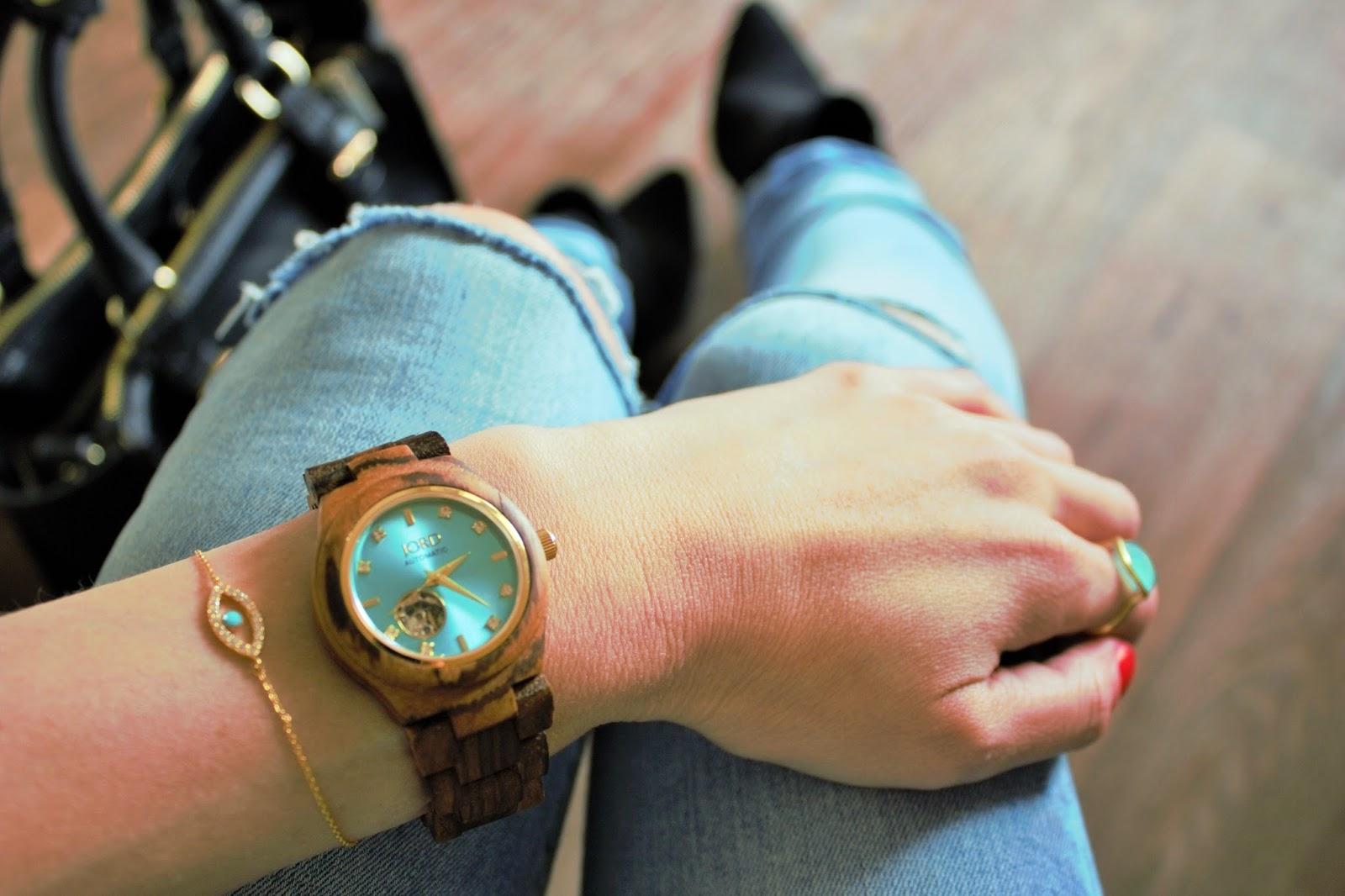 Jord Watch and Accessorize bracelet