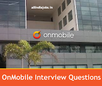 Onmobile Interview Questions