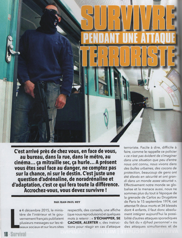 Survivre à une attaque terroriste