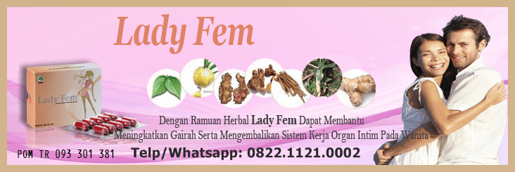 Alamat Tempat Jual LadyFem Makassar Makassar / Telp 082191789998