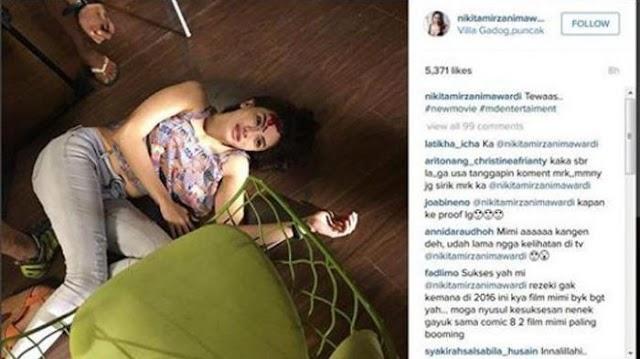 Ini Video Nikita Mirzani-Duo Serigala Goyang Dribel, Pilih Mana ?