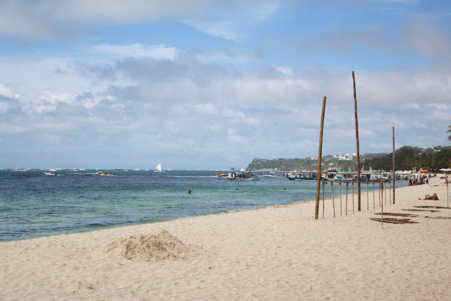 Boracay Island, Philippines - photo of the beach