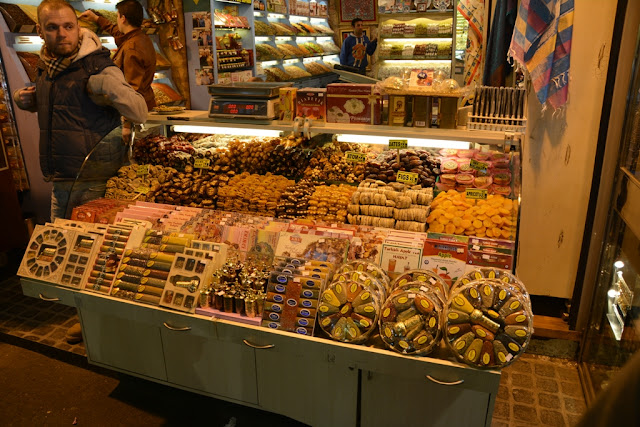 Egyptian Market Istanbul Candy