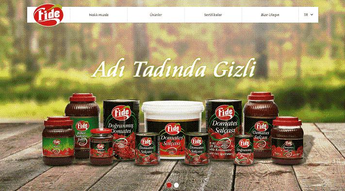 Türkiye'deki domates salçası ve biber salçası üreticileri ve ihracatçıları.- Fide Firması