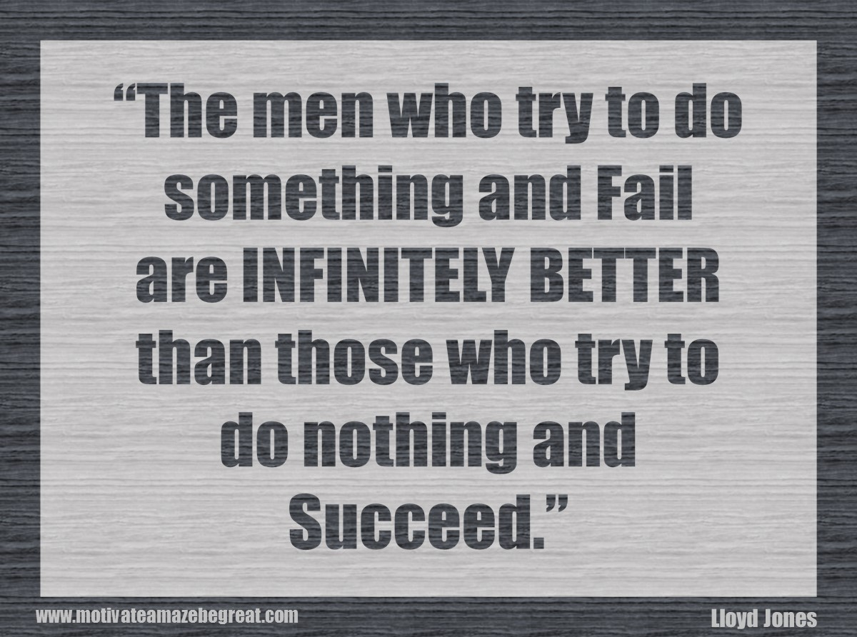 Inspirational Quotes For Men 34 Selfimprovement Quotes About Success And Failure How To Fail
