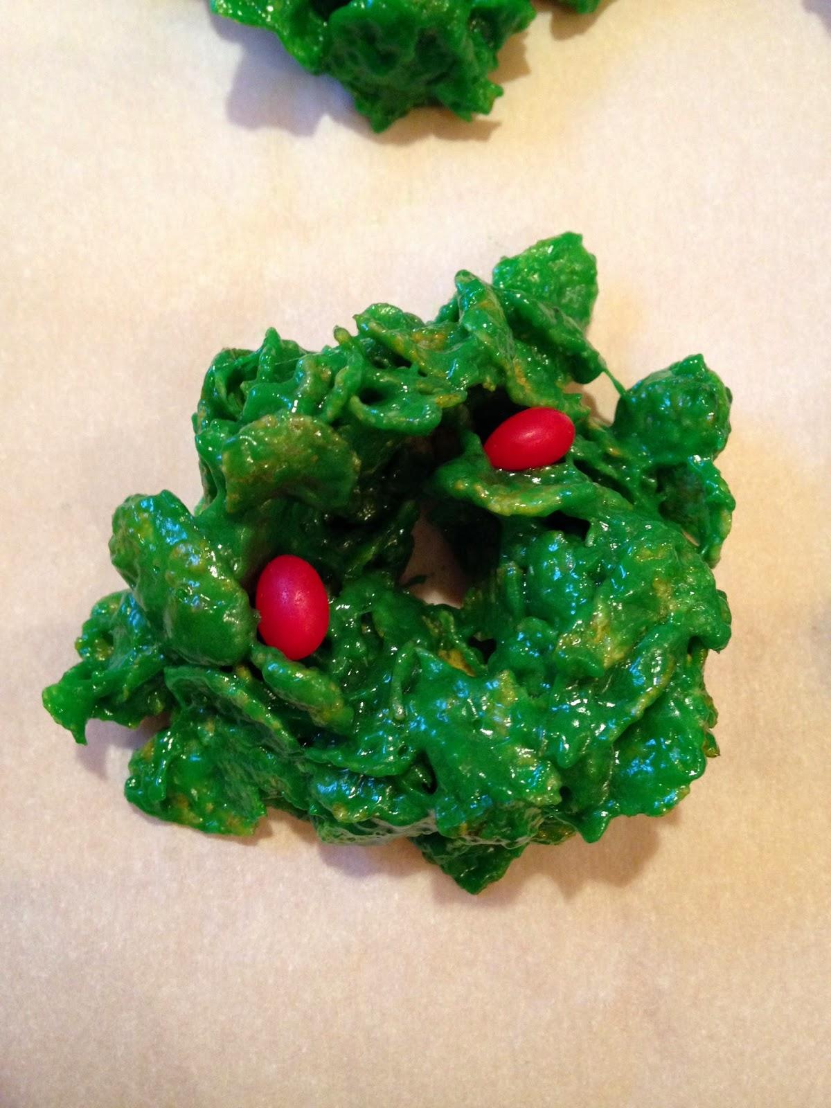 Christmas Wreath Cookies.Maggie S Lesvegan Kitchen Vegan Christmas Wreath Cookies