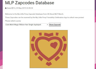 MLPMerch.com Releases Zapcodes Database