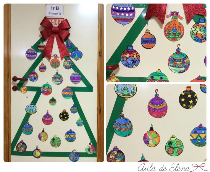 Decoraci n de navidad aula de elena for Ambientacion para navidad
