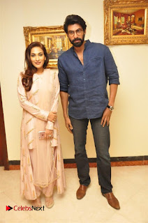 Aiswarya Rajinikanth Dhanush Standing on an Apple Box Launch Stills in Hyderabad  0038.jpg