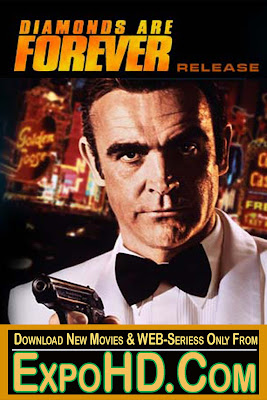 James Bond Diamonds Are Forever 1971 Dual Audio 480p [Blu – Ray 720p] 600Mb || Google Drive / Watch Online