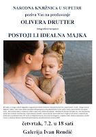 Olivera Drutter, integrativni terapeut - predavanje Postoji li idealna majka - Supetar slike otok Brač Online