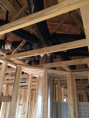 ryan homes hvac duct work attic
