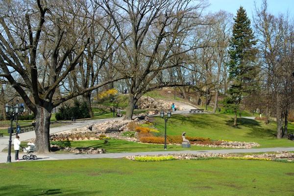 riga bastejkalns park bastion hill