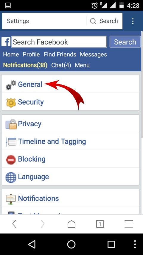 how to change facebook email username