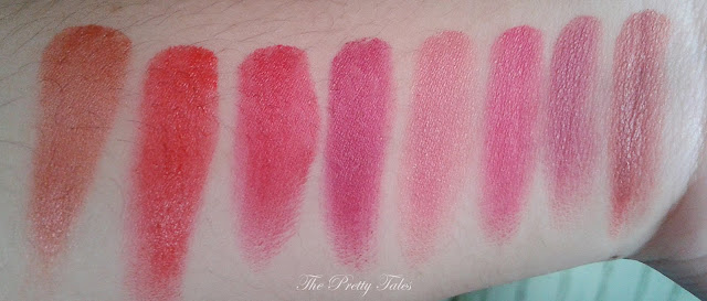 wardah lip palette perfect red review swatch