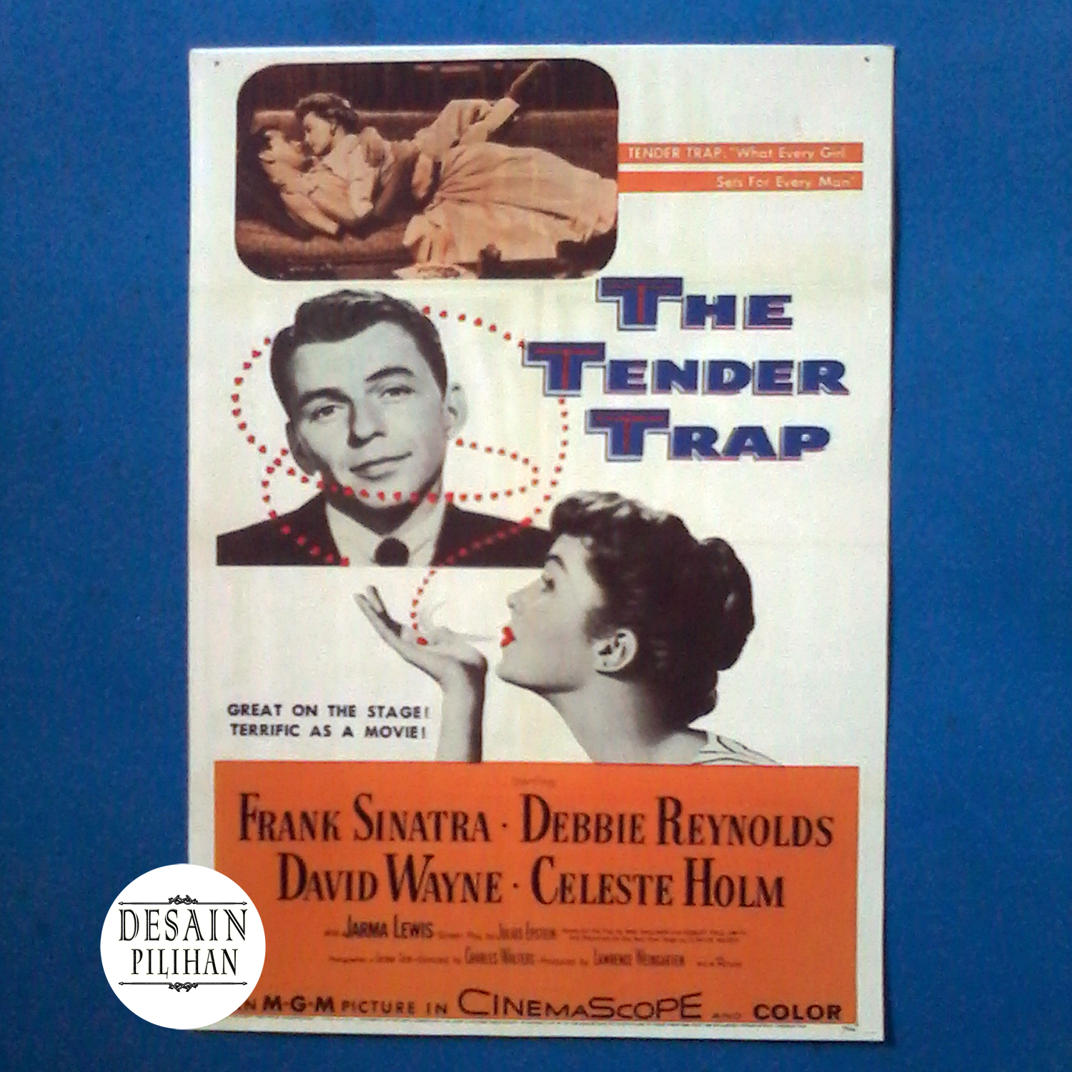 POSTER THE TENDER TRAP
