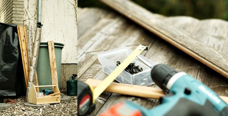 Werkzeug und Material für UpCycling DIY { by it's me! }