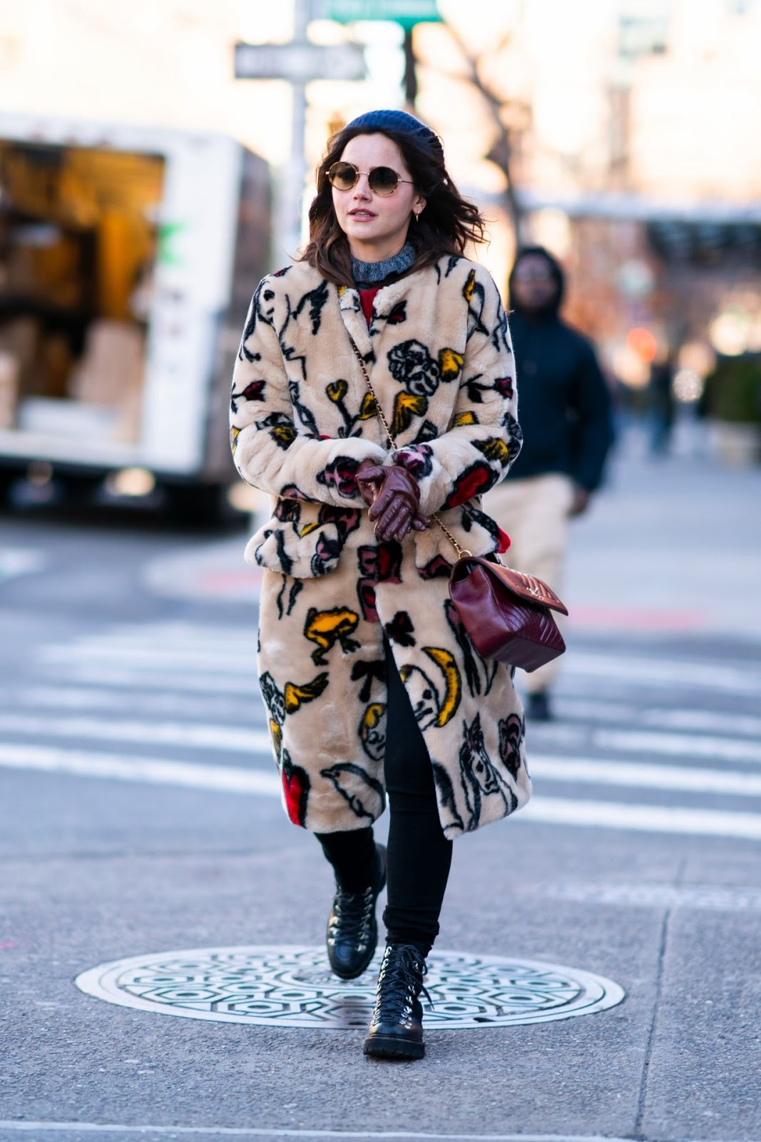 Jenna Coleman – Out in New York City 01/11/2019