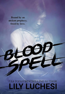 Front cover of BLOODSPELL by Lily Luchesi. A paranormal, 18+ novel.