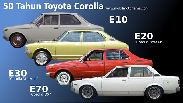 Corolla KE10, Corolla betawi, Corvet, DX