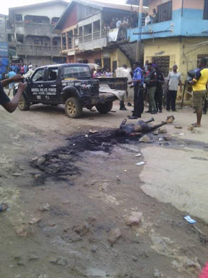 1 Photos: 3 killed as Hausa and Igbo Traders clash in Aba