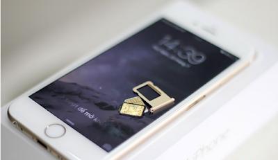 Sim ghép điện thoại iPhone 6 lock Nhật