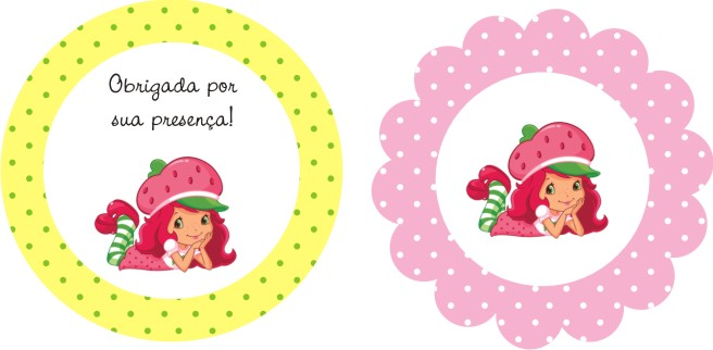Mini Kit Personalizado Moranguinho Para Imprimir Dicas Pra Mamae