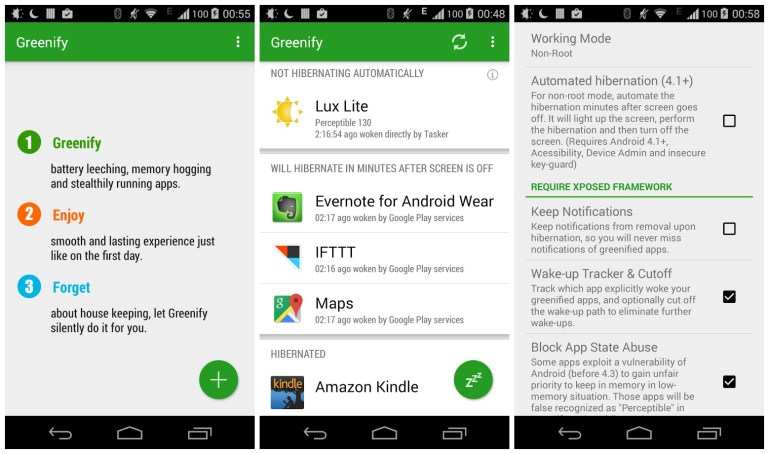 Greenify Donate Apk Patched Full Version