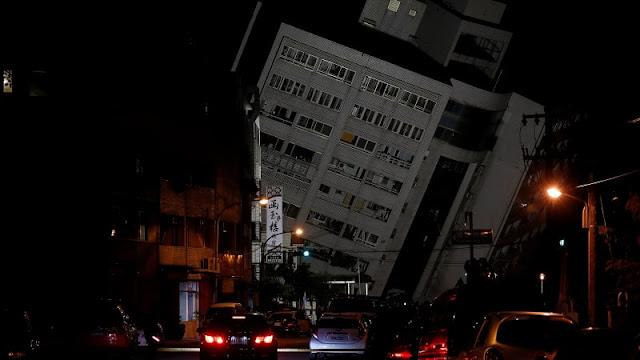 2 Orang Tewas dan 114 Luka-luka dalam Gempa di Taiwan