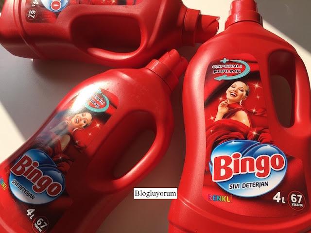 bingo renkli sıvı deterjan