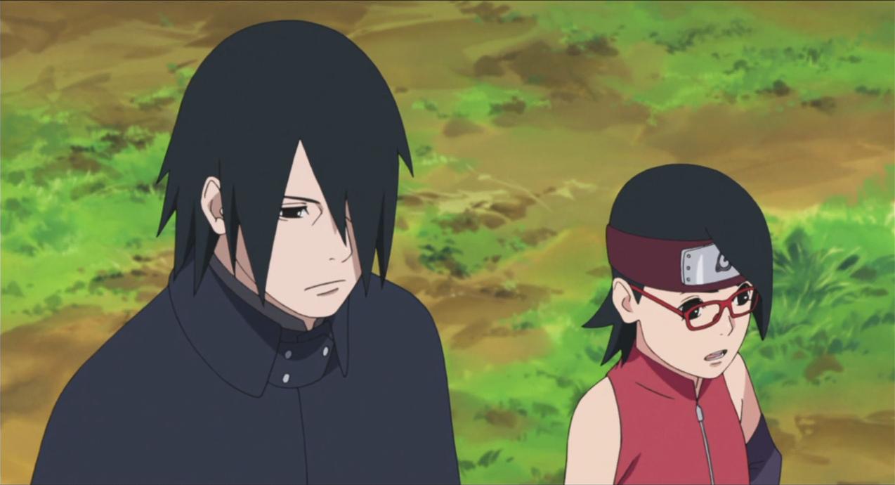 Sasuke a Sarada