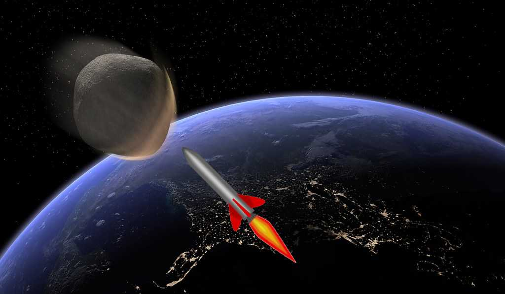 The last time a huge catastrophic asteroid hit the earth, it was around 65 million years ago, and it wiped out 3wipedters of all life on earth. That was the asteroid that killed the dinosaurs. This sort of occasion occurs around 100 million years. If an asteroid were to hit our earth today, it could mean the literal annihilation of our species. So what is the plan to deal with such anevent? What's more, is there whatever should be possible about it?