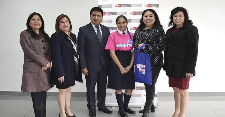 DRELM promueve el liderazgo de las estudiantes en el Día Internacional de la Niña - www.drelm.gob.pe