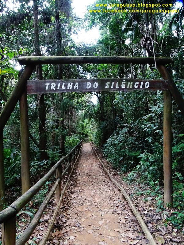 A Trilha do Silêncio tem 828 metros (ida e volta)
