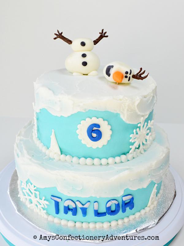 Olaf Cake Frozen