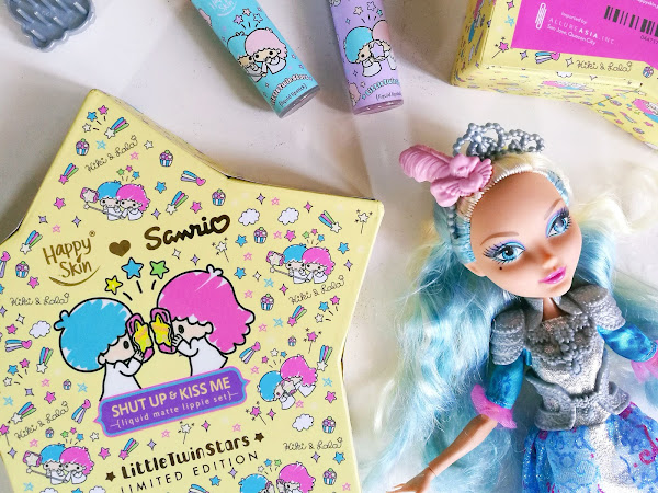 Review: Happy Skin ♡ Sanrio Liquid Matte Lippie Set in Twinkle Twinkle and Star Wand