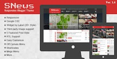 SNews Responsive News & Magazine Blogger Theme