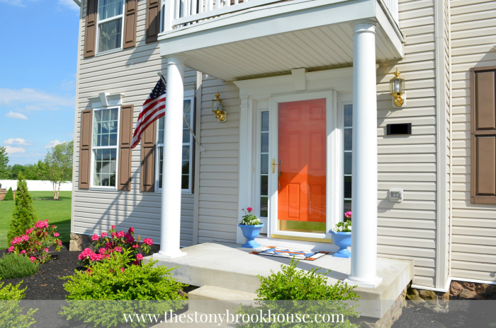 Spring Front Porch Makeover