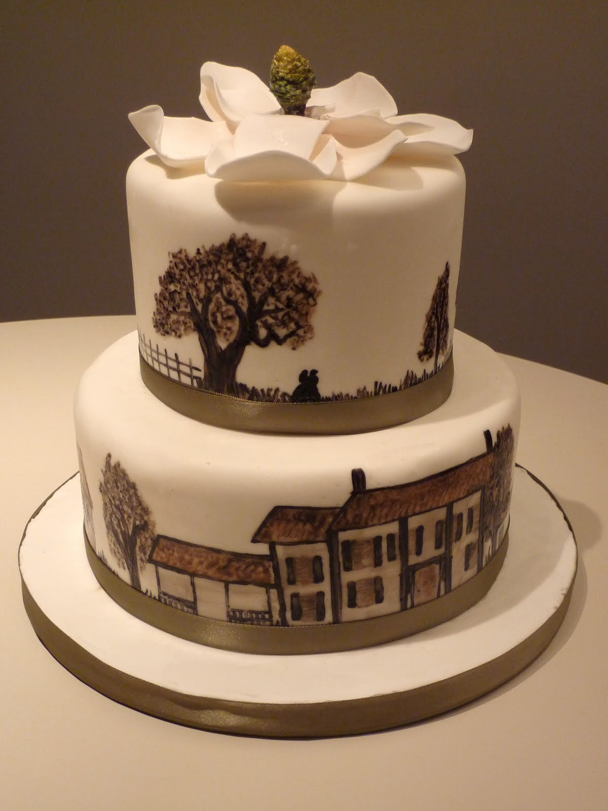 Creative Crumbs Nashville Gone With The Wind Cake