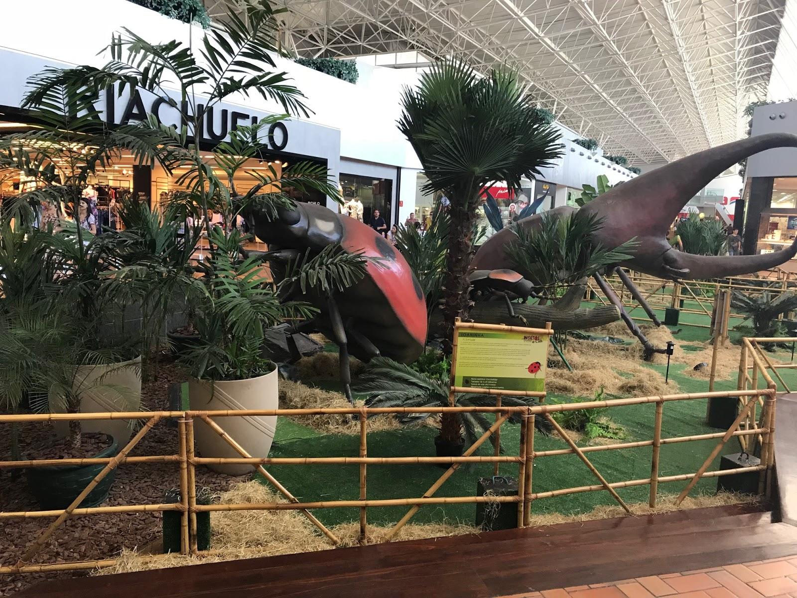 Iguatemi Fortaleza expõe insetos gigantes 4c279a382a1e6