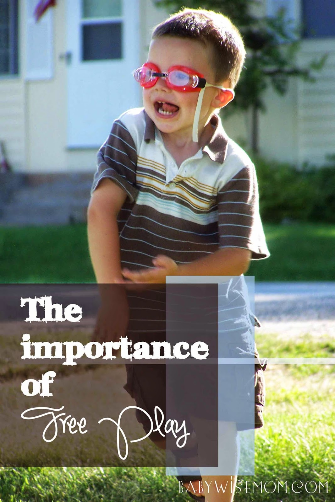 The Importance of Free Play Time {and ideas for fitting it in}
