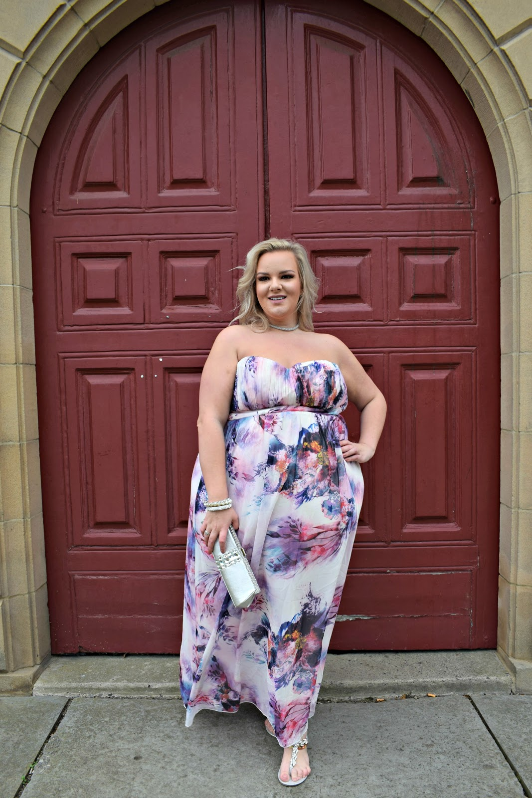 Autumn Wedding Guest Dress by Little Mistress from Simply Be US
