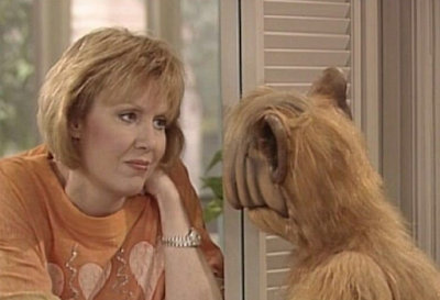Anne Schedeen en 'Alf'