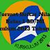 Format Daftar Nilai Kelas 1 SD/MI Kurikulum 2013 Tahun 2019 - Homesdku
