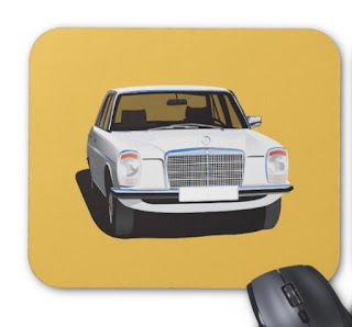 Mercedes-Benz w114 w115 mouse-mat