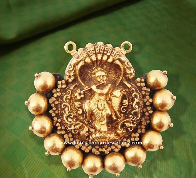 Simple Lord Krishna Pendant