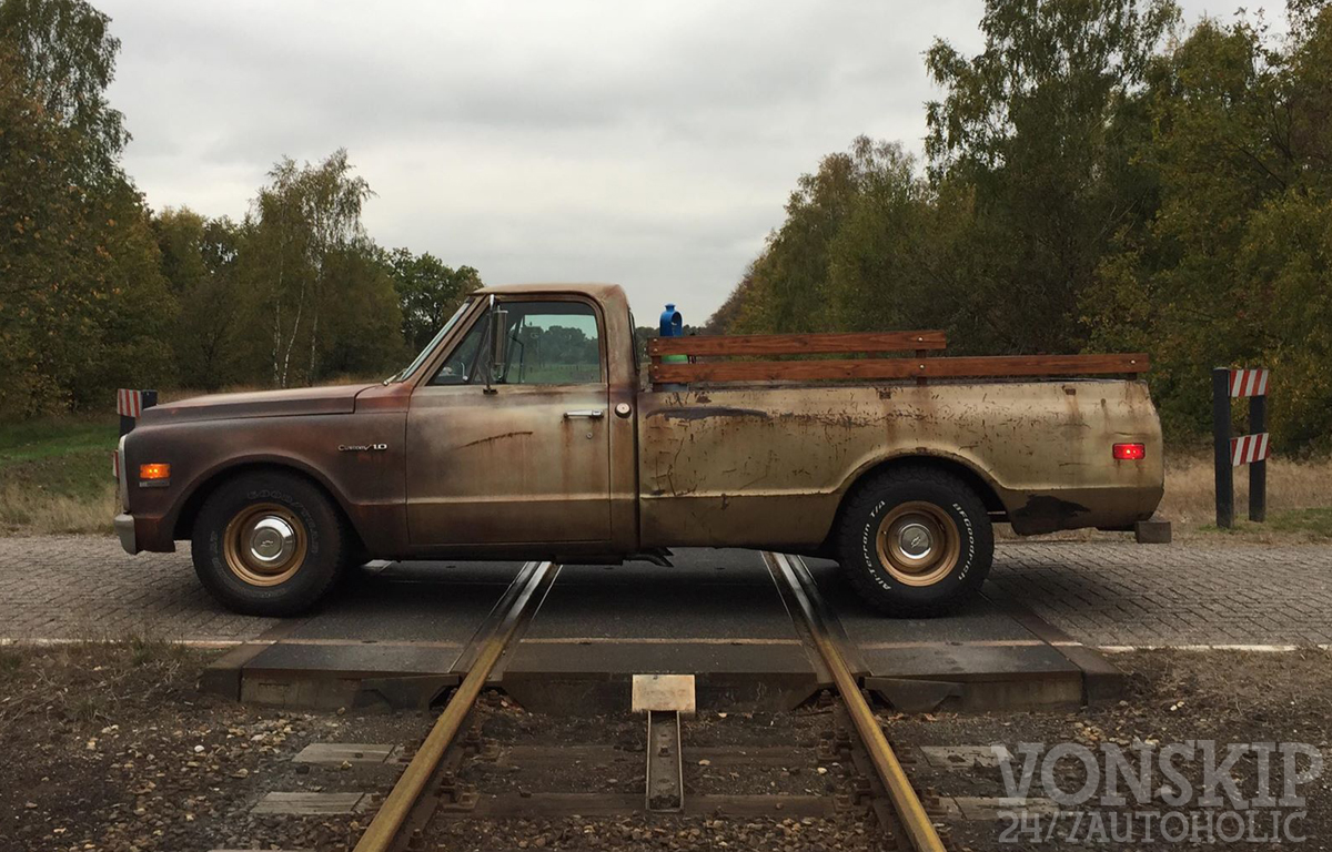 RodCityGarage: 1969 Chevrolet C10 Pick Up Truck For Sale