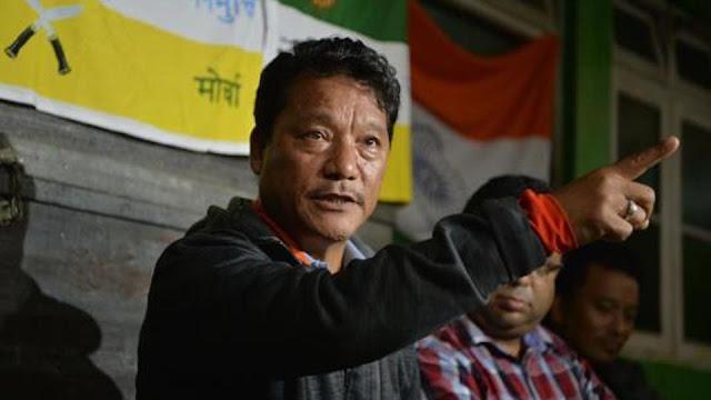Bimal Gurung, former chief of Gorkha Janmukti Morcha